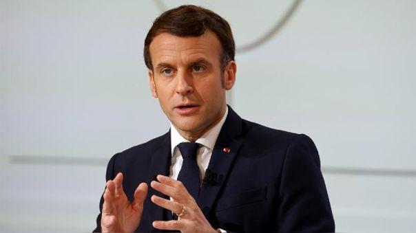 Presidente de Francia, Emmanuel Macron.