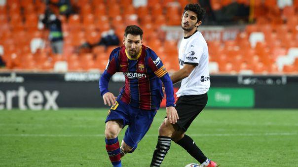 Lionel Messi ha jugado toda su carrera en el Barcelona.