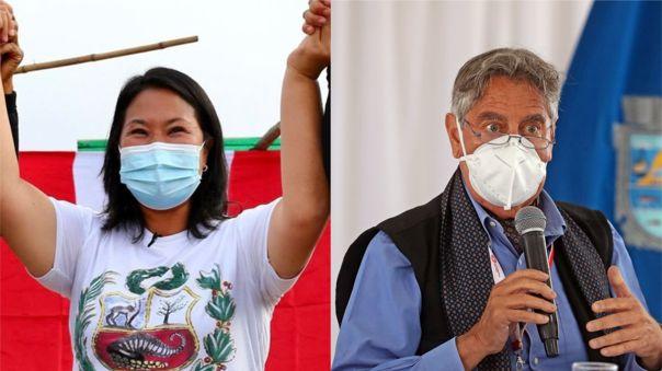 Keiko Fujimori se pronunció además sobre la adquisición de vacunas anunciada por el mandatario.