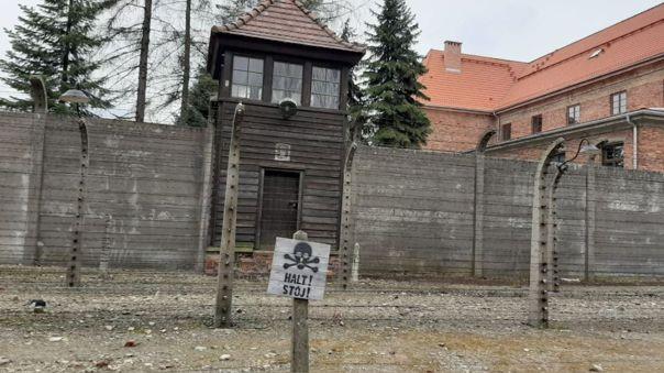El museo de Auschwitz.