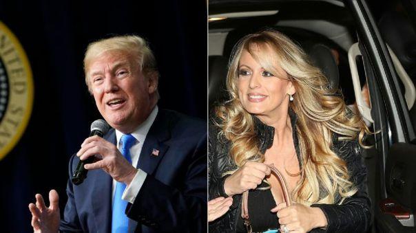 Stormy Daniels alegaba que mantuvo una relación con Trump en 2016, cuando el hoy presidente de EE.UU. estaba ya casado con Melania.