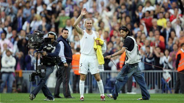 Zinedine Zidane obtuvo una Champions League como jugador del Real Madrid.