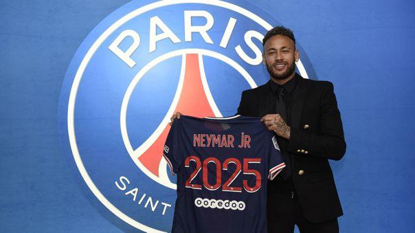 Neymar seguirá siendo jugador del PSG hasta el 2025