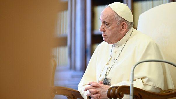 En su mensaje, el papa apoyó la reciente posición del presidente de los Estados Unidos, Joe Biden.