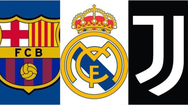 Real Madrid, Barcelona y Juventus denunciaron amenazas por parte de la UEFA