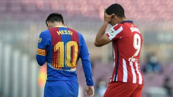 Barcelona y Atlético se enfrentan por la fecha 35 de LaLiga
