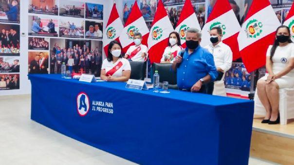 César Acuña y Keiko Fujimori se reunieron este último sábado para detallar las alianzas en campaña.