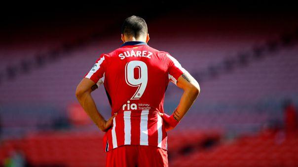 Luis Suárez desperdició chance de marcarle al Barcelona