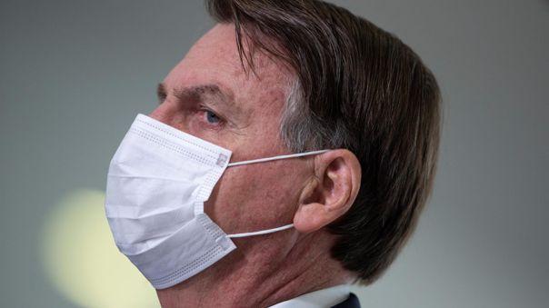 Jair Bolsonaro defiende el uso de la cloroquina contra la COVID-19.