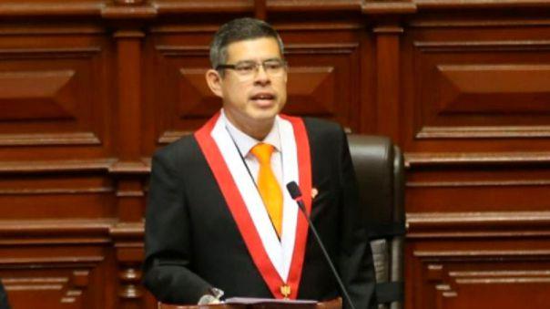 Luis Galarreta, candidato a primer vicepresidente de Fuerza Popular.