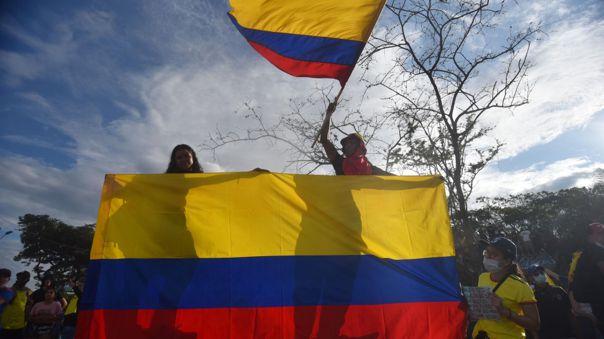 Protestan en Colombia han dejado decenas de desaparecidos.