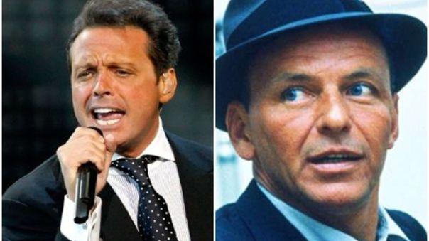 Esta es la historia detrás de la reunión entre Luis Miguel y Frank Sinatra