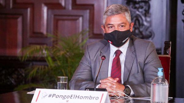 El ministro del Interior advirtió que la Policía se está organizando para actuar en los distritos con mayor incidencia delictiva.