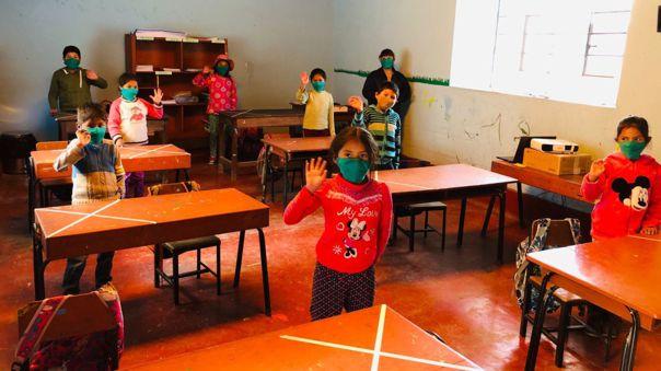 En la provincia de La Unión 19 colegios de primaria y cuatro de nivel inicial vienen desarrollando labores semipresenciales.