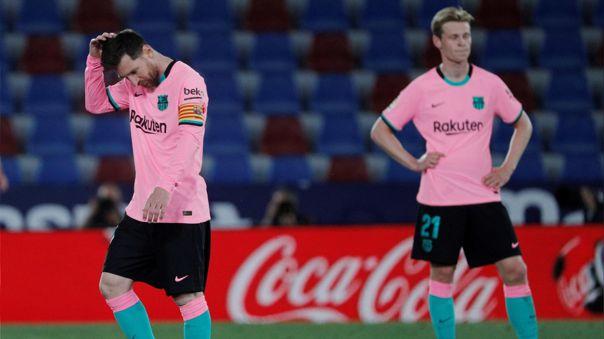 Barcelona dejó pasar la chance de llegar a la cima de LaLiga.