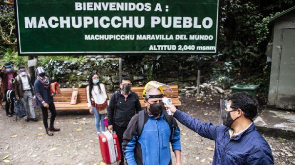 Vacunación en Machu Picchu
