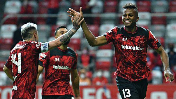 Toluca derrotó al Cruz Azul en primer partido de la liguilla final.