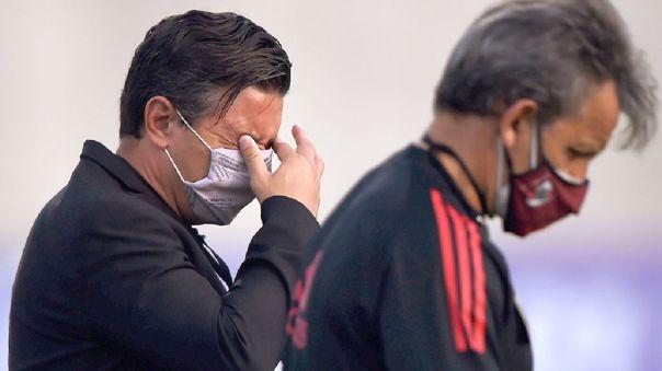 Marcelo Gallardo no la pasó bien previo al River Plate ante Junior.