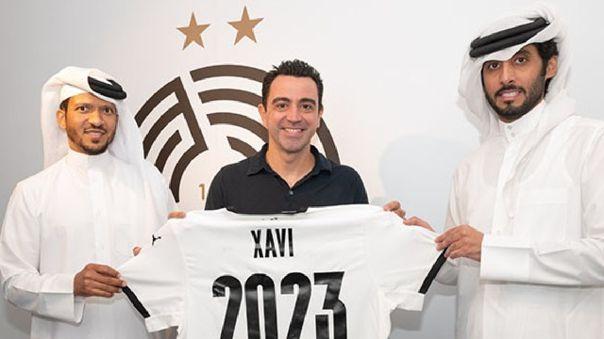 Xavi Hernández continuará como DT del Al Sadd en Qatar.
