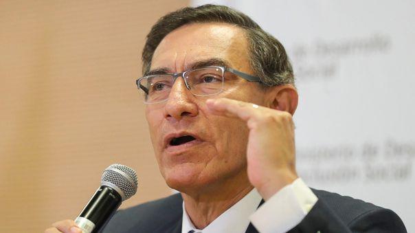Martín Vizcarra cuestionó la decisión del Poder Judicial.
