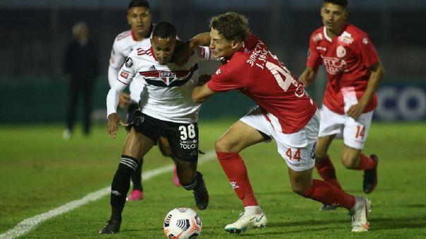Rentistas empató 1-1 con Sao Paulo por la fecha 4 de Copa Libertadores