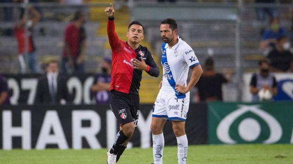 Atlas toma ventaja ante el Puebla en los playoffs de la Liga MX.