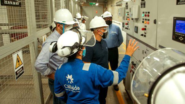 Cálidda y ABB se encargaron de la instalación de la planta de autogeneración de gas natural.