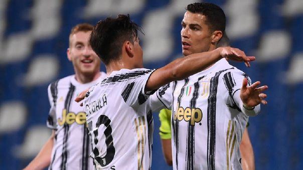 Juventus enfrenta a Sassuolo por la fecha 36 de la Serie A