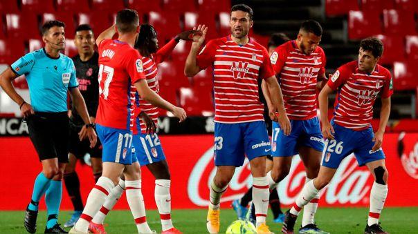 Jorge Molina marcó el descuento para Granada ante Real Madrid