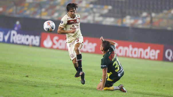 Universitario empató 1-1 con Defensa y Justicia por la Libertadores