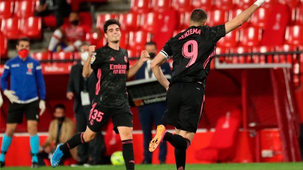 Real Madrid ganó 1-4 ante Granada por la jornada 36 de LaLiga