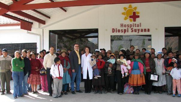 En el Hospital Misionero Diospi Suyana de Curahuasi, médicos extranjeros atienden a pacientes con la COVID-19.