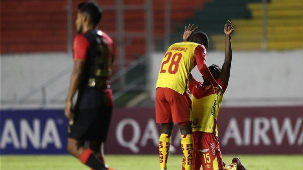 Melgar se queda con nueve puntos en lo que va de la Copa Sudamericana.