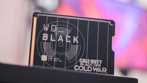 NIUSGEEK tiene a prueba un HDD WD Black P10 edición Call of Duty