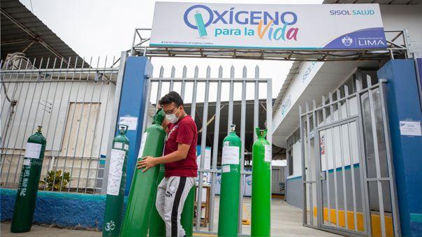 La instalación de la planta oxígeno presenta un 80% de avance.