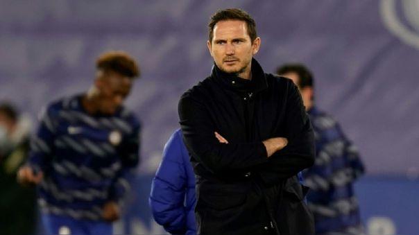 Frank Lampard no ganó títulos como entrenador del Chelsea.