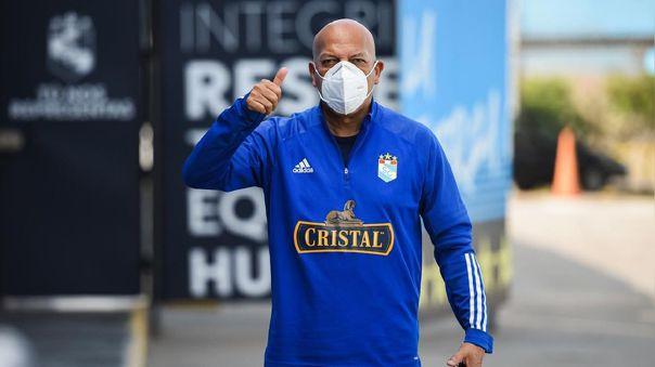 Roberto Mosquera es campeón de la Liga 1 Betsson con Sporting Cristal.