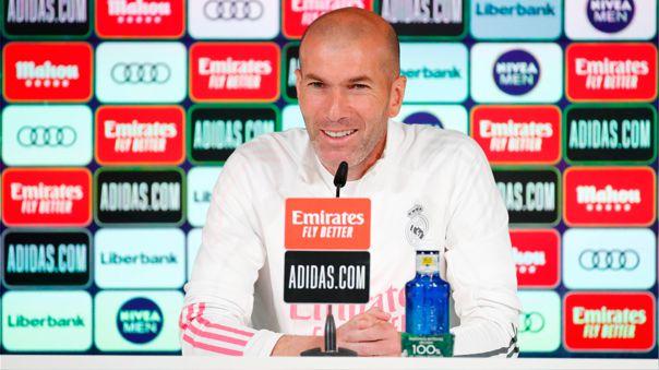 Zinedine Zidane regresó a tomar el mando del Real Madrid en 2019