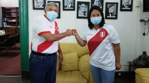 El PPC oficializó su apoyo a la candidatura de Keiko Fujimori.