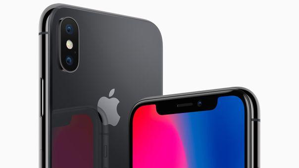 El 'notch' caracteriza a los dispositivos Apple desde el iPhone X.