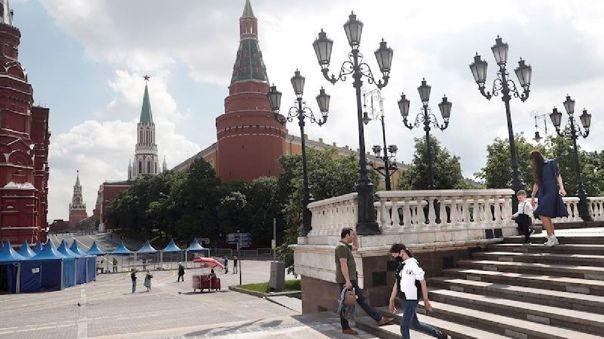 Moscú, la zona más afectada de Rusia.