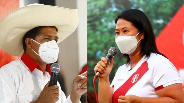 Los líderes de Perú Libre y Fuerza Popular lanzan nuevas propuestas de cara a la segunda vuelta.