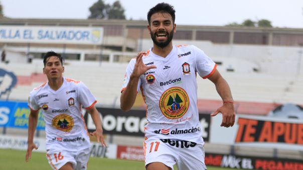 Leandro Sosa anotó el 2-1 de Ayacucho FC ante Universitario
