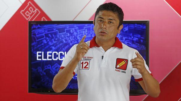 Guillermo Bermejo es virtual congresista por Perú Libre.