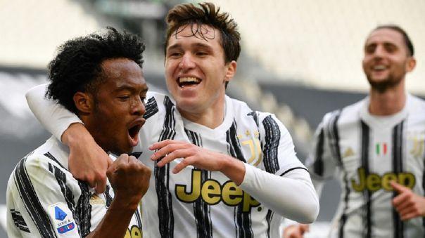 Con doblete de Juan Cuadrado, Juventus venció 3-2 a Inter de Milán por la Serie A
