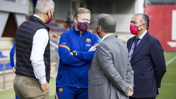 Ronald Koeman quiere seguir siendo entrenador del Barcelona