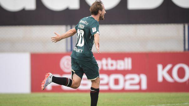 Hernán Novick marcó el gol más rápido de la Liga 1 Betsson 2021
