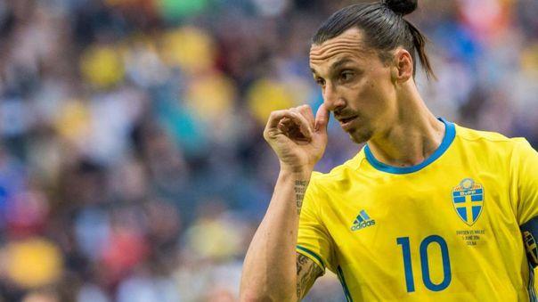 Zlatan Ibrahimovic no jugará la Eurocopa 2021 con Suecia