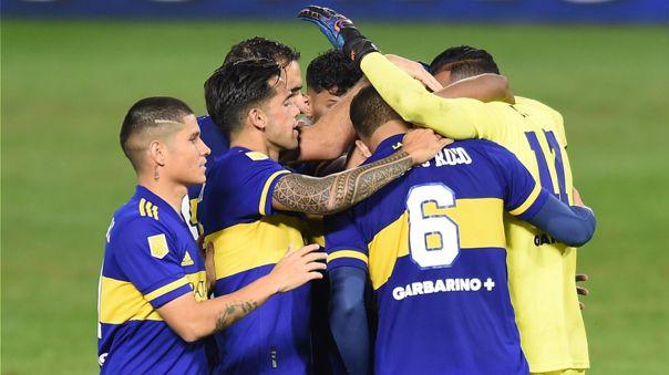 Boca Juniors clasificó a semifinal de la Copa Liga Profesional
