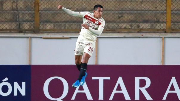 Alex Valera anotó el empate 1-1 de Universitario ante Independiente